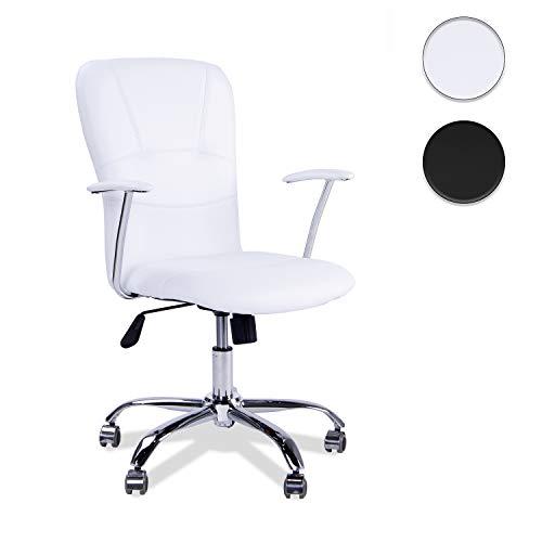 Adec Bürostuhl Maggie, Maße 58x 55x 106cm, weiß