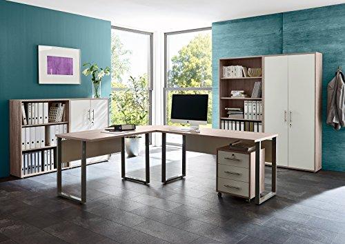 Büromöbel komplett Set Bürokombination Office Edition in Sandeiche - Made in Germany -