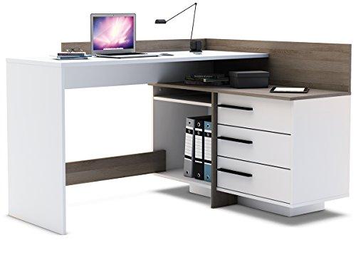 """Eckschreibtisch Schreibtisch Arbeitstisch Bürotisch Computertisch """"Thales"""""""