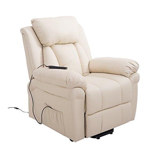 HOMCOM® Elektrischer Fernsehsessel Aufstehsessel Relaxsessel Sessel mit Aufstehhilfe