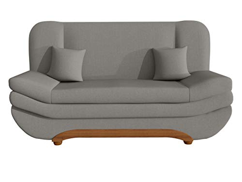 Mirjan24  Sofa Weronika mit Bettkasten und Schlaffunktion, Schlafsofa, Große Farb- und Materialauswahl, Couch vom Hersteller, Wohnlandschaft