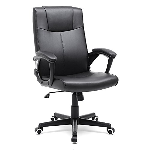 SONGMICS ergonomischer Bürostuhl, Chefsessel, 360° Drehstuhl