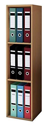 VCM Anbauprogramm Elementa, 102 CDs oder 36 DVDs oder 20 Videos, Regal Rack Möbel Aufbewahrung, Farbauswahl