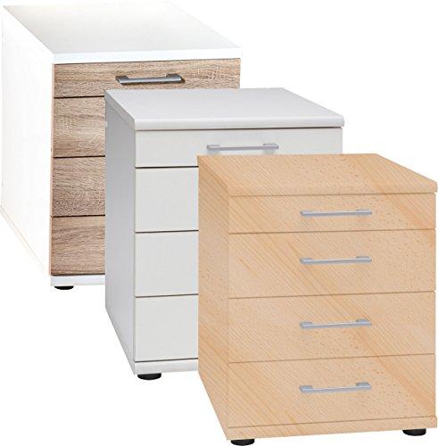VCM Büro Container mit Schubladen Schubladenschrank Bürocontainer Büroschrank Omegos 218 Sideboard