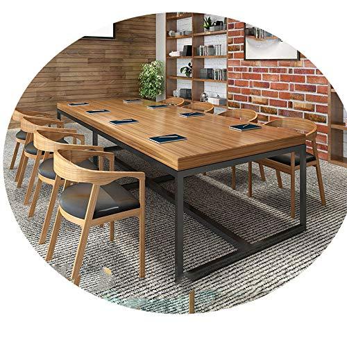 chair Schreibtisch Aus Schmiedeeisen, Konferenztisch, Langer Tisch, Esstisch, Verhandlungstisch Für Schulungen, Moderner Computertisch