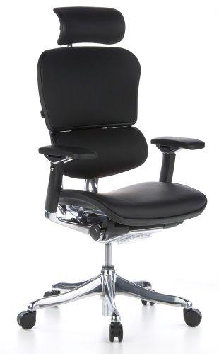 hjh OFFICE Ergohuman Plus ergonomischer Bürostuhl/Chefsessel