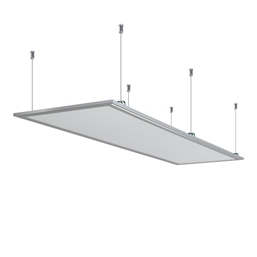 Anten LED Panel Hängeleuchte Deckenleuchte Deckenlampe, mit Befestigungsmaterial und LED Treiber