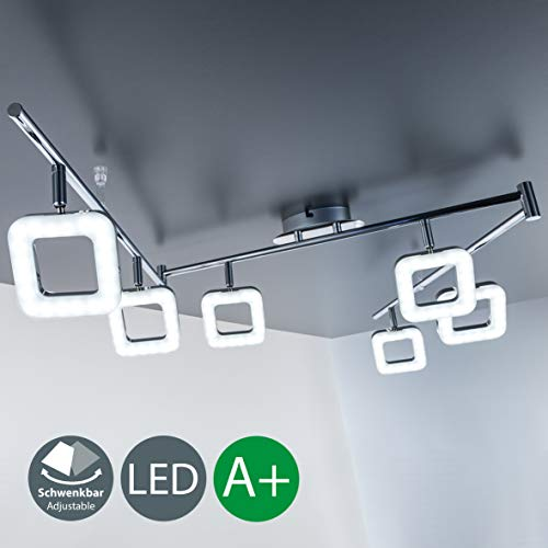 LED Deckenleuchte 6-er