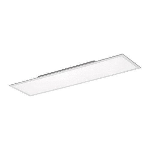 LED Panel, Deckenleuchte flach, Büroleuchte, neutralweiß, 120x30cm, superflach, Led Paneel, 3600 Lumen, Dimmer+Fernbedienung, Bürolampe, Tageslicht, Decken-Lampe, Wandlampe, 4000 Kelvin, Aufputz