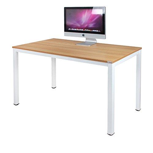 Need Schreibtisch Computertisch 120x60cm PC Tisch Bürotisch Arbeitstisch Esstisch für Home Office