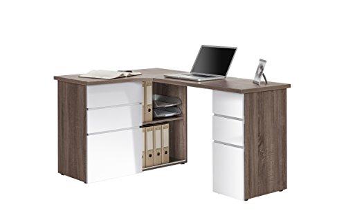 Schreibtisch Computertisch MAJA in verschiedenen Dekoren 145x76,6x101,5cm