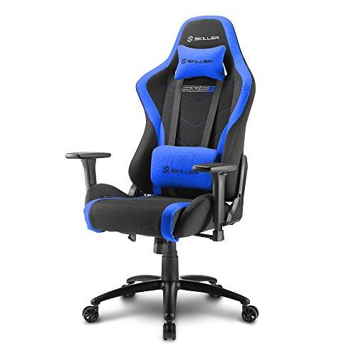 Sharkoon Skiller SGS2 Hochwertiger Gaming Stuhl mit Stoffbezug