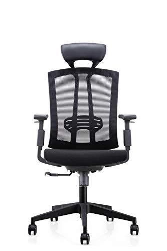 Top Gamer Gaming Stuhl PC Racing Gaming Sessel Bürostuhl Schreibtischstuhl mit Gepolsterte Fußstütze