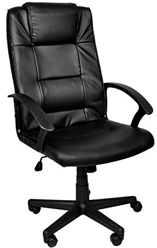 MALATEC Bürostuhl Chefsessel Drehstuhl Schreibtischstuhl schwarz 8982