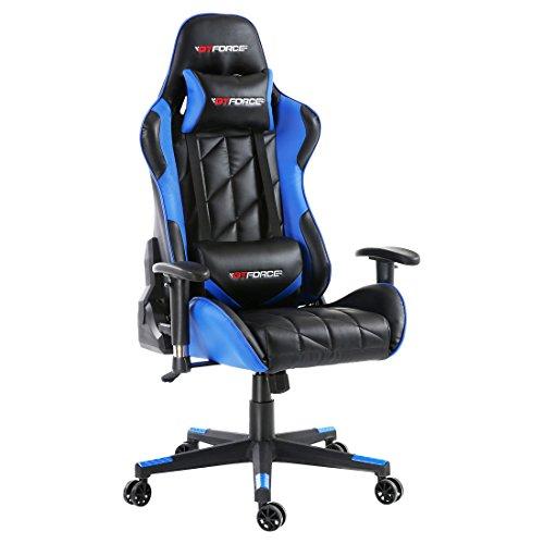 GTFORCE PRO GT Gaming Racing Bürostuhl Schreibtischstuhl PC Car Kunstleder Stuhl