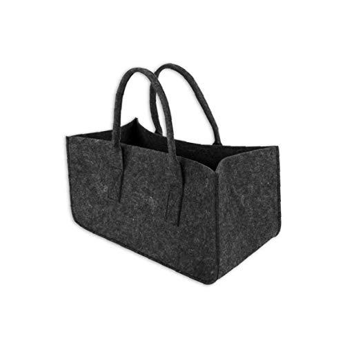 IUwnHceE Black Women Filz-Taschen-Tasche Reisen University College Plain Einkaufs Handbag